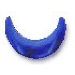 Crescent 10x10mm Sapphire HotFix Nailheads