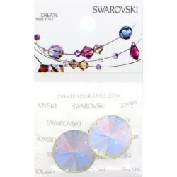 Swarovski Retail Ready Package 1122 14mm Crystal AB - 2pcs