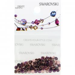 Swarovski Retail Ready Package 2038 3mm (SS10) Amethyst - 100 pcs