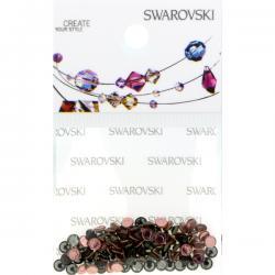 Swarovski Retail Ready Package 2038 3mm (SS10) Black Diamond - 100 pcs