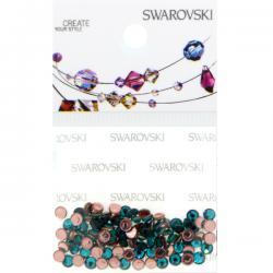 Swarovski Retail Ready Package 2038 3mm (SS10) Blue Zircon - 100 pcs
