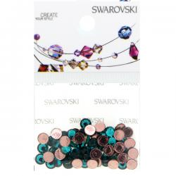 Swarovski Retail Ready Package 2078 4mm (SS16) Blue Zircon - 65 pcs