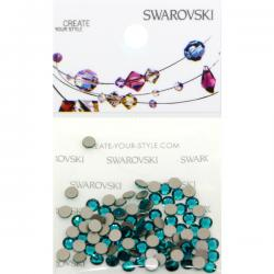 Swarovski Retail Ready Package 2088 SS12 Blue Zircon - 100 pcs