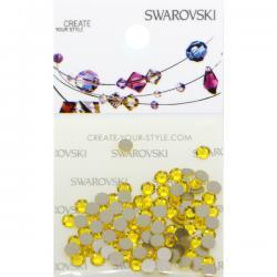 Swarovski Retail Ready Package 2088 SS12 Citrine - 100 pcs