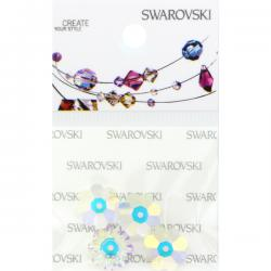 Swarovski Retail Ready Package 3700 10mm Crystal AB - 3 pcs
