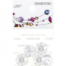 Swarovski Retail Ready Package 3700 10mm Crystal - 5 pcs