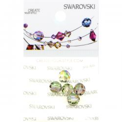 Swarovski Retail Ready Package 5000 6mm Paradise Shine - 5 pcs