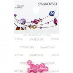 Swarovski Retail Ready Package 5000 4mm Rose - 8 pcs