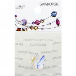 Swarovski Retail Ready Package 6000 13x6.5mm Crystal AB - 2 pcs