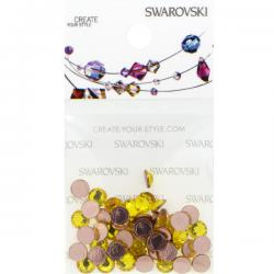 Swarovski Retail Ready Package 2078 5mm (SS20) Citrine - 50 pcs