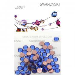 Swarovski Retail Ready Package 2038 3mm (SS10) Capri Blue - 100 pcs