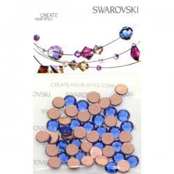 Swarovski Retail Ready Package 2078 5mm (SS20) Capri Blue - 50 pcs