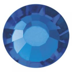 4mm Capri Blue Preciosa HotFix Crystals