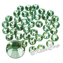 2mm 6ss Chrysolite Swarovski 2038 Low Lead Swarovski HotFix Crystals
