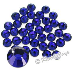 5mm 20ss Cobalt Swarovski 2038 Low Lead Swarovski HotFix Crystals