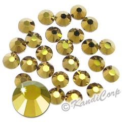 5mm 20ss Crystal Dorado Swarovski 2038 Swarovski HotFix Crystals