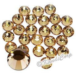2mm 6ss Light Colorado Topaz Swarovski 2038 Swarovski HotFix Crystals