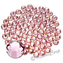 7mm 34ss Light Rose Swarovski 2038- Low Lead Swarovski HotFix Crystal