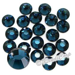 7mm 34ss Montana Swarovski 2038- Low Lead Swarovski HotFix Crystal