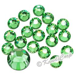 4mm 16ss Peridot Swarovski 2038- Low Lead Swarovski HotFix Crystals