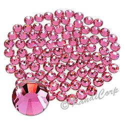 3mm 10ss Rose Swarovski 2038- Low Lead Swarovski HotFix Crystal