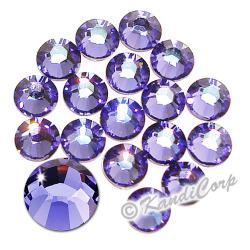 7mm 34ss Tanzanite Swarovski 2038 Low Lead Swarovski HotFix Crystals