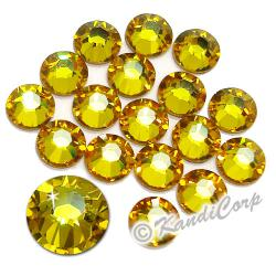 5mm 20ss Sunflower Swarovski 2038 Low Lead Swarovski HotFix Crystals