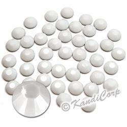 5mm 20ss Chalk White Swarovski 2038 Low Lead Swarovski HotFix Crystals
