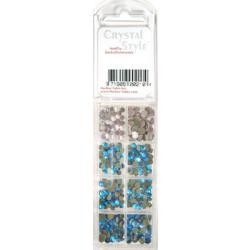 CrystalStyle Crystalina March Birthstone Assortment Pack