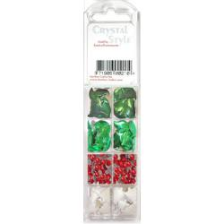 CrystalStyle Crystalina WinterWondland Assortment Pack