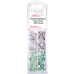CrystalStyle Pastel Pearlstone Assortment Pack