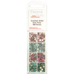 CrystalStyle Glitter Pearl Assortment Pack
