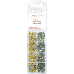 CrystalStyle Crystalina Yellows Assortment Pack