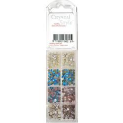 CrystalStyle Crystalina June Birthstone Assortment Pack