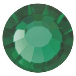 5mm Emerald Preciosa HotFix Crystals