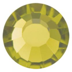 4mm Olivine Preciosa HotFix Crystals