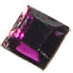 4mm  Amethyst Crystalina HotFix Crystal Squares