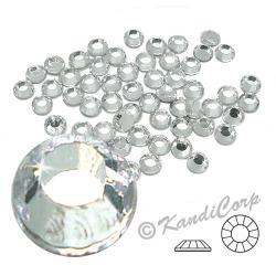 3.5mm 12ss  Clear Crystal CraftSafe HotFix Crystals