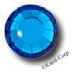 4mm 16ss Capri Blue CraftSafe HotFix Crystals