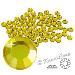 4mm 16ss Citrine CraftSafe HotFix Crystals
