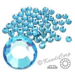5mm 20ss Light Aquamarine CraftSafe HotFix Crystals