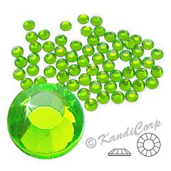 4mm 16ss Peridot CraftSafe HotFix Crystals