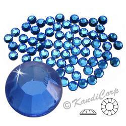 3mm 10ss Sapphire CraftSafe HotFix Crystals
