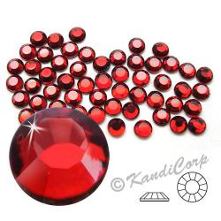 4mm 16ss Siam Ruby CraftSafe HotFix Crystals