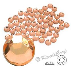 3mm 10ss Peach Crystalina HotFix Rhinestone Korean Crystals