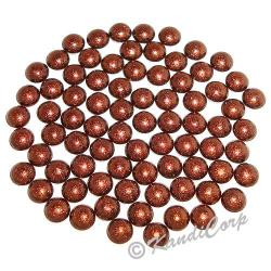 2mm Cocoa HotFix Pearlstuds