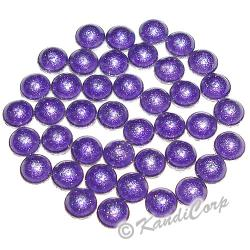 2mm Purple HotFix Pearlstuds