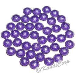3mm Purple HotFix Pearlstuds