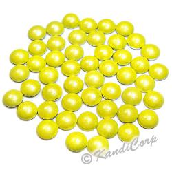 4mm Yellow HotFix Pearlstud