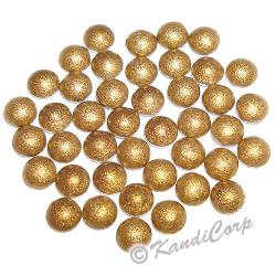 3mm Antique Gold HotFix Pearlstud